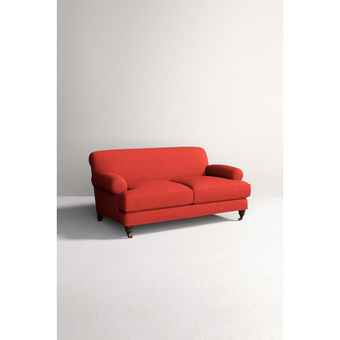 Willoughby Sofa, Performance Wool with Hickory Leg -...