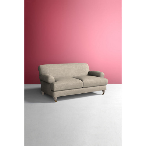 Willoughby Sofa, Performance Linen with Wilcox Leg -...