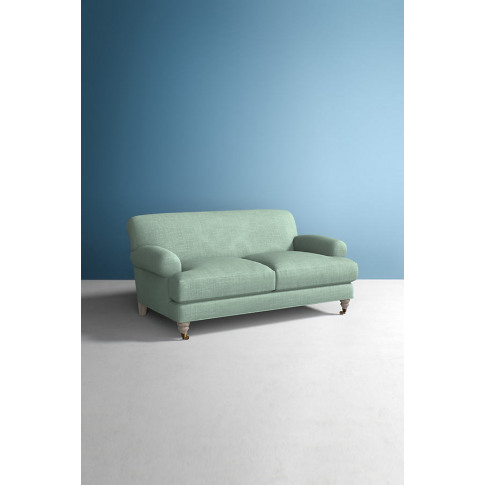 Willoughby Sofa, Performance Linen With Wilcox Leg - Mint