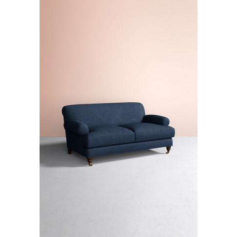 Willoughby Sofa, Performance Linen With Hickory Leg ...