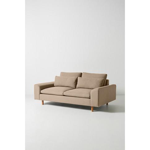 Mirren Two-Seater Sofa, Performance-Linen - Beige