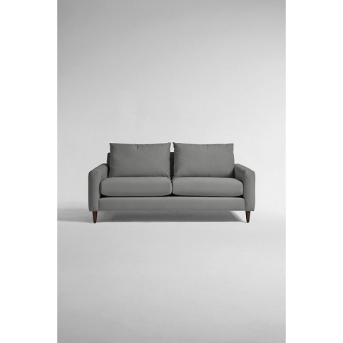Everleigh Two-Seater Sofa, Performance Velvet - Grey...