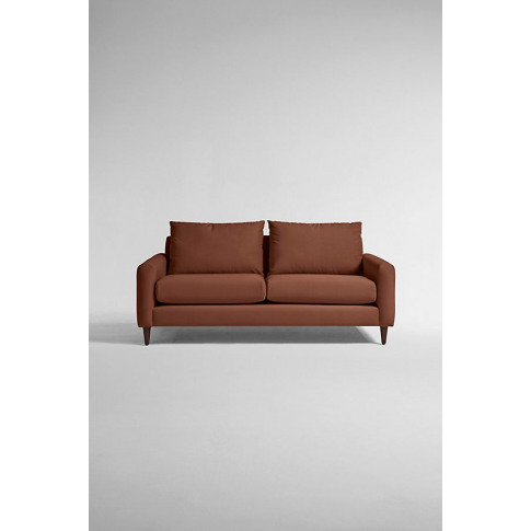 Everleigh Two-Seater Sofa, Performance Velvet - Red,...