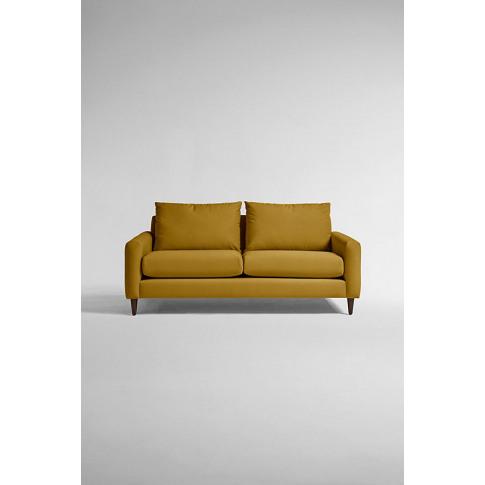 Everleigh Two-Seater Sofa, Performance Velvet - Yell...