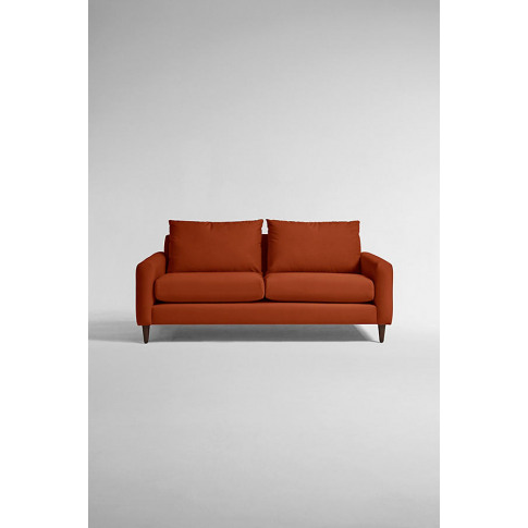 Everleigh Three-Seater Sofa, Performance Velvet - Or...