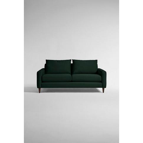 Everleigh Three-Seater Sofa, Performance Velvet - Bl...