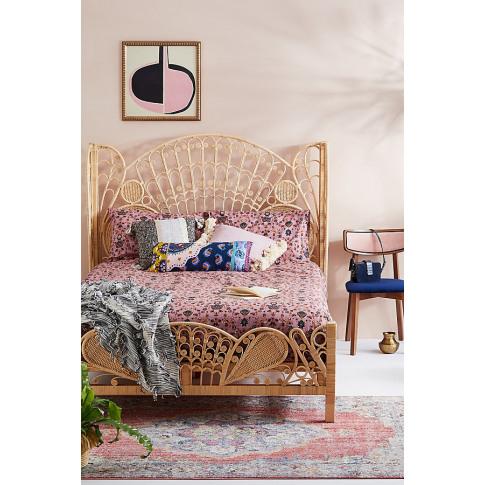 Zarei Duvet Set - Pink, Size Uk Spr Kng