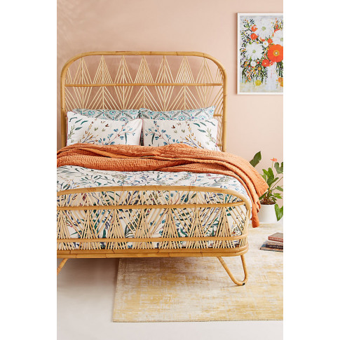 Willow Reversible-Printed Duvet Set - Assorted, Size...