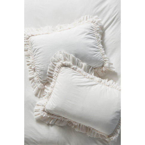 Set Of 2 Washed Percale Adina Pillowcases