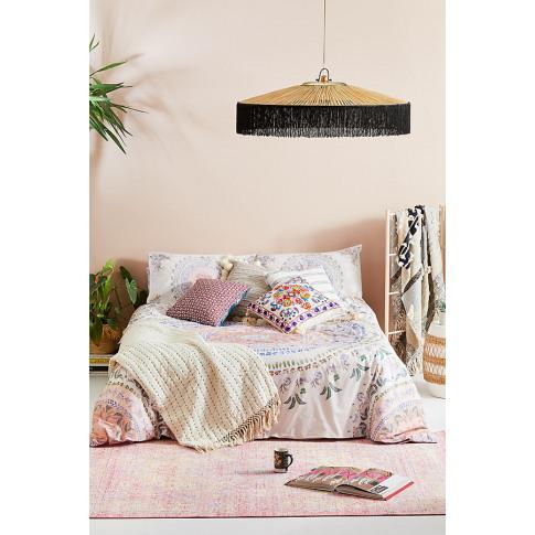 Sierra Duvet Set - Pink, Size Uk Spr Kng