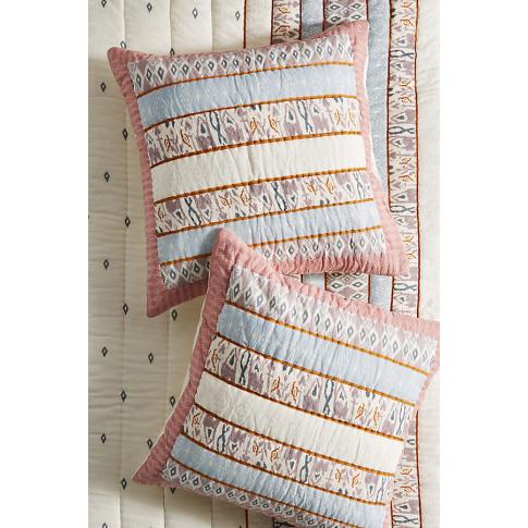 Lilah Square Pillowcase - Purple, Size Euro Sham