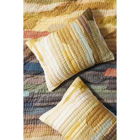 Set Of 2 Vivie Patchwork Pillowcases
