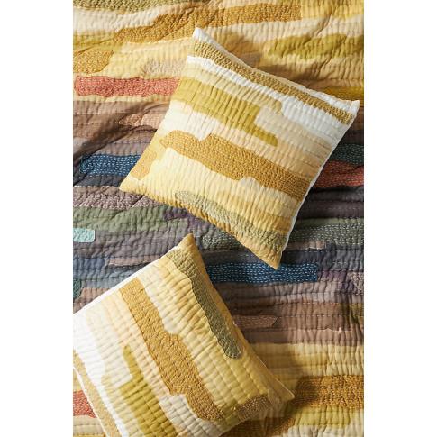 Vivie Patchwork Square Pillowcase