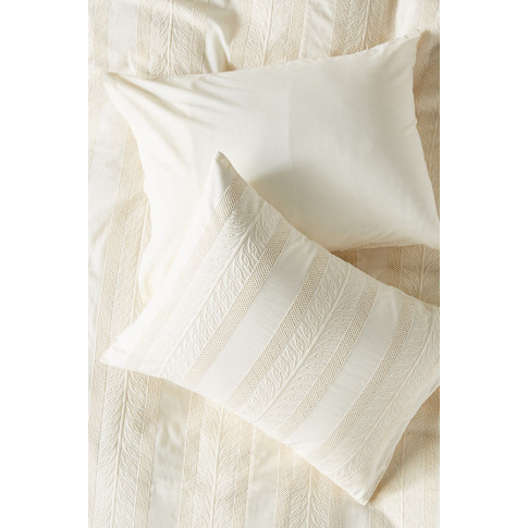 Set Of 2 Embroidered Cantrelle Pillowcases