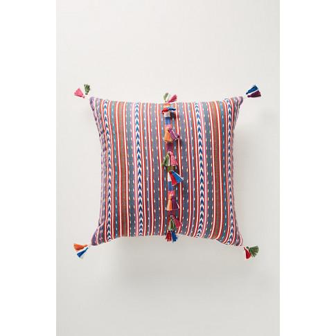 Woven Rosado Cushion - Purple, Size 20 In Sq