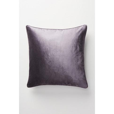 Adelina Velvet Cushion - Grey, Size King Bfrm