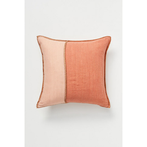 "Audie Cushion - Pink, Size 16"" Sq"