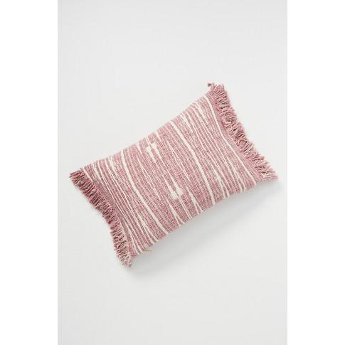Textured Kadin Cushion - Purple, Size Os/Tu
