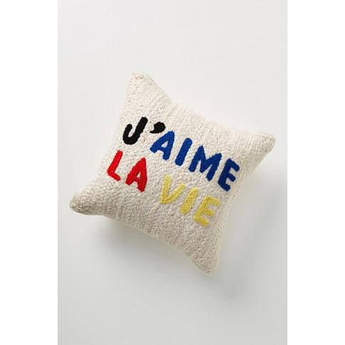 Clare V. For Anthropologie Maisonette Jute Cushion -...