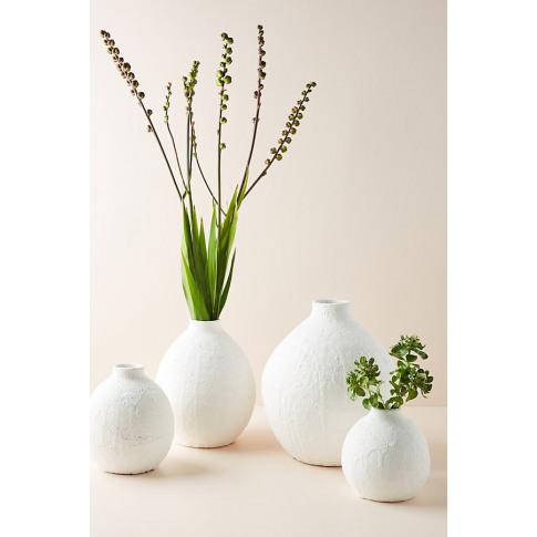 Lark Vase - White, Size M