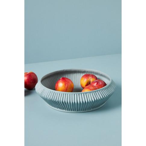 Pleated Porcelain Vase
