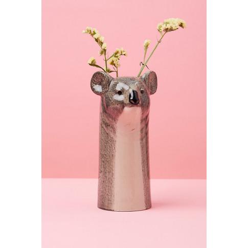 Quail Koala Vase