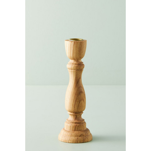 Sawyer Wood Taper Candle Holder