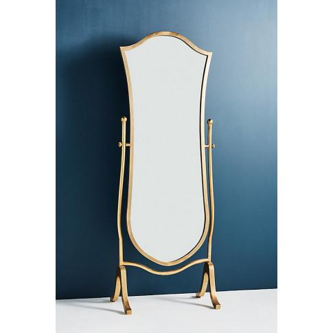 Etienne Standing Mirror - Green, Size L