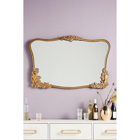 Yarrow Mirror - Brown, Size M