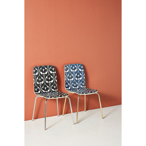 Ikat Tamsin Dining Chair - Indigo