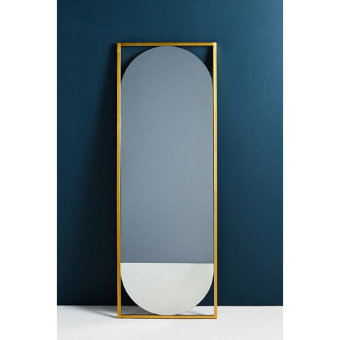 Bethan Gray Strike Collection Mirror - Gold, Size L