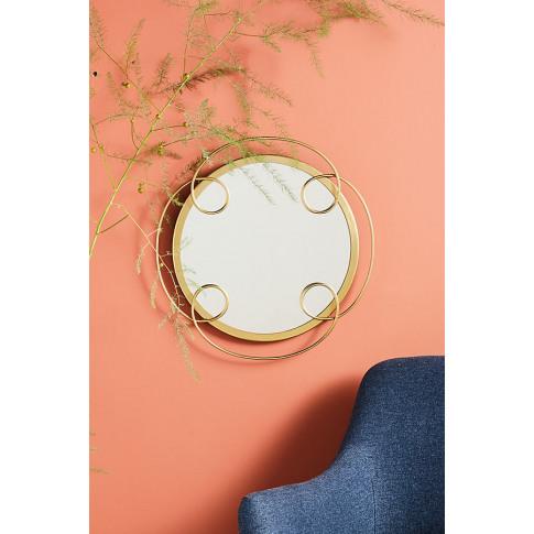 Heidi Mirror - Gold, Size S