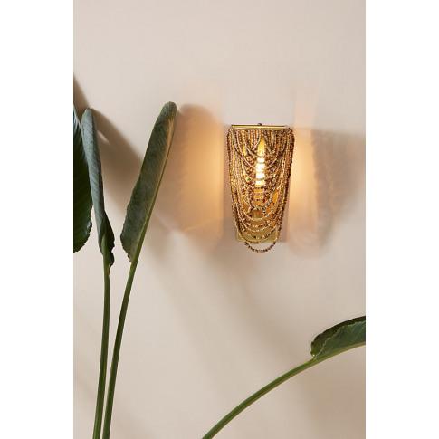 Marieta Wall Light - Brown