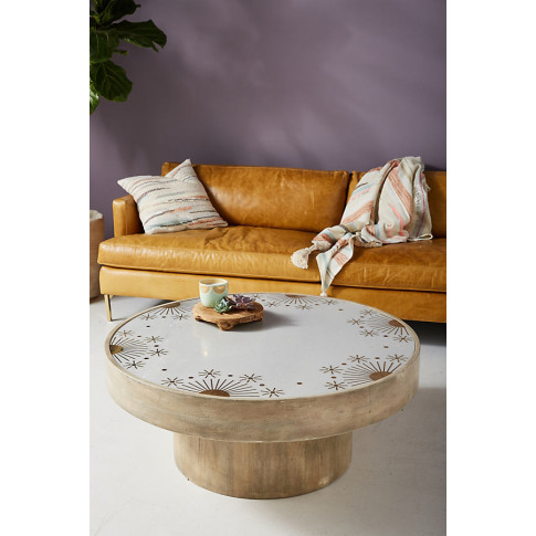 Eastern Sky Coffee Table - Beige