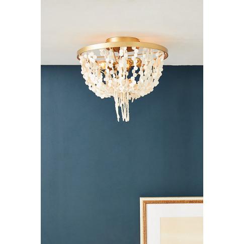 Leona Ceiling Light - White, Size S