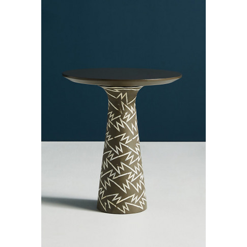 Bethan Gray Strike Collection Side Table - Grey