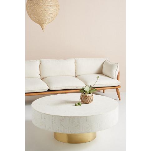 Targua Coffee Table - White