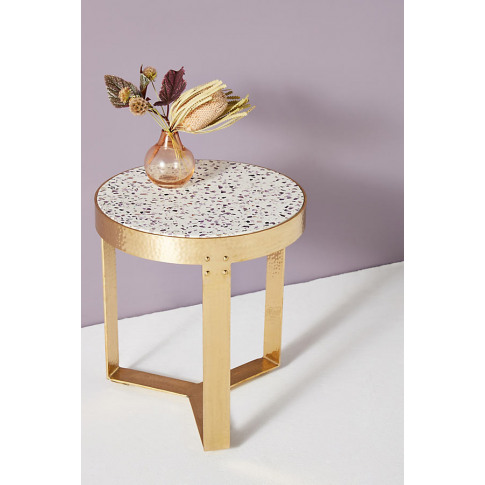 Lirit Side Table - Purple