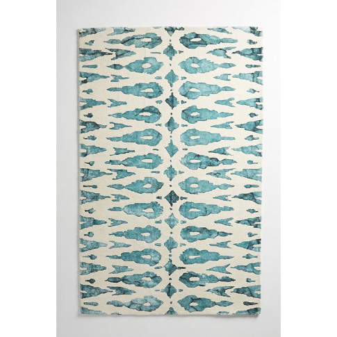 Tufted Ari Rug - Blue, Size 4 X 6