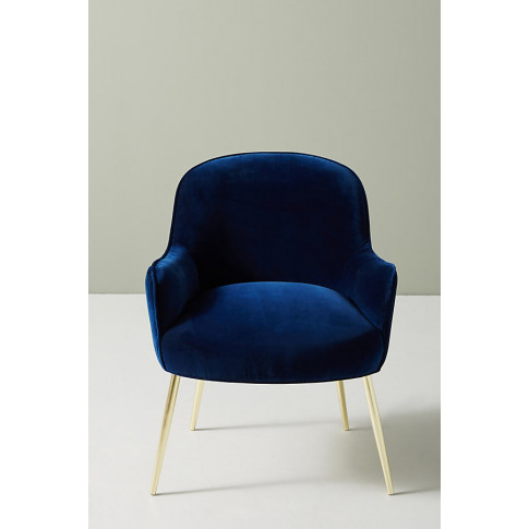 Camilla Dining Chair - Blue