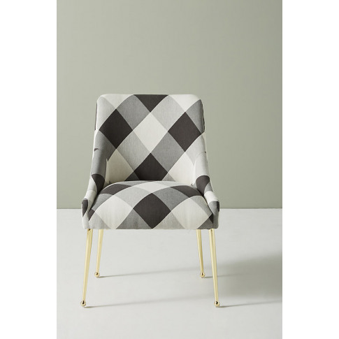 Buffalo Check Elowen Dining Chair without Arm Rest -...