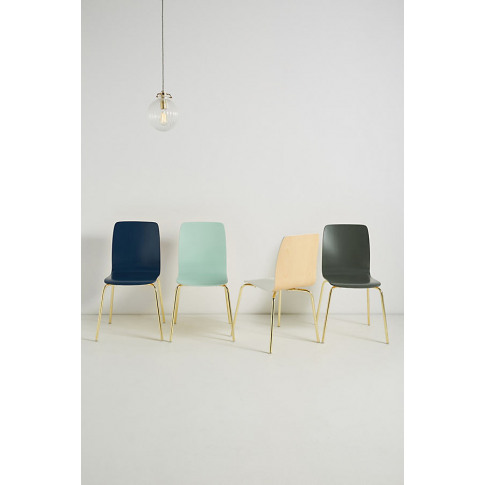 Solid Tamsin Dining Chair - Grey