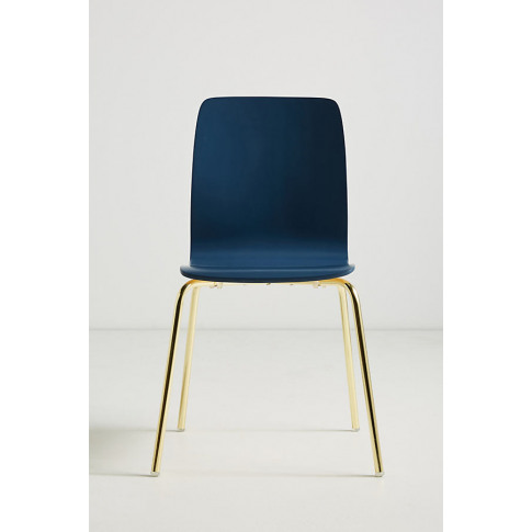Solid Tamsin Dining Chair - Blue