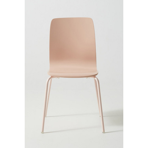 Solid Tamsin Dining Chair - Pink