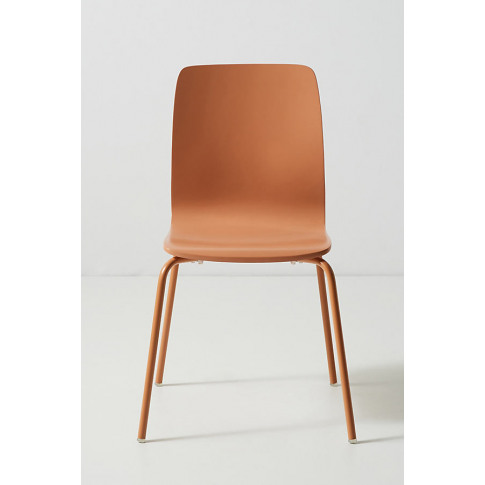Solid Tamsin Dining Chair - Orange