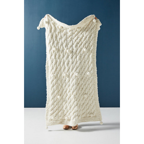 Haven Throw Blanket - Ivory