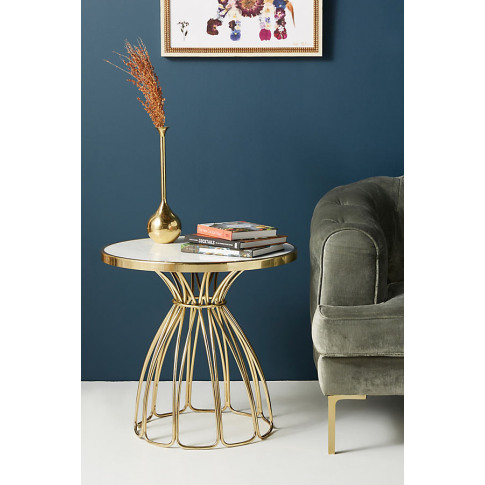 Seaford Side Table - Bronze