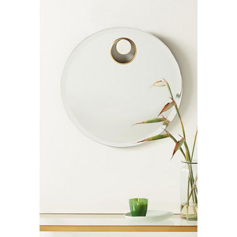 Ebba Mirror - White, Size M