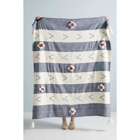 Kamryn Throw Blanket - Blue