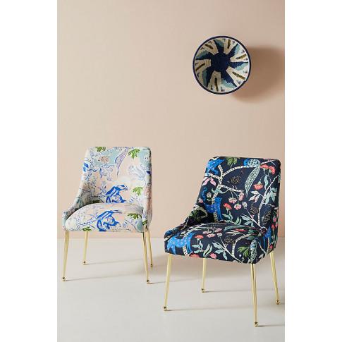 Midnight Jasmine Elowen Dining Chair - Purple
